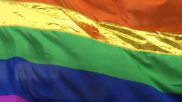 Auch hier Gold statt Gelb – CSD Flagge 4.0!
