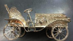 Ein Silberauto aus Aleppo…