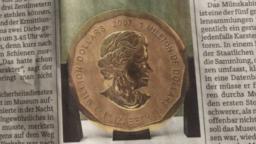 Goldmünze ist unverkäuflich…